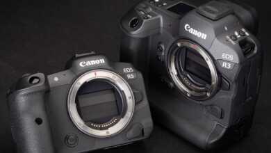 Canon EOS R5 vs R3 header